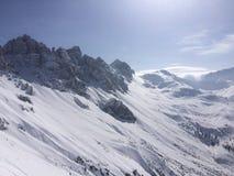 Winterwonderland. Austria Tirol fun Friends Royalty Free Stock Photography