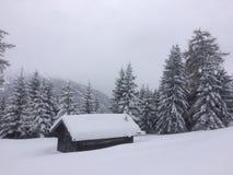 Winterwonderland. Austria Tirol fun Friends skitour Royalty Free Stock Photos
