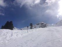 Winterwonderland. Snow and skiing Royalty Free Stock Photo