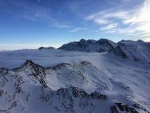 Winterwonderland. Snow and skiing Stock Photo