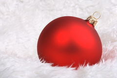 Wintery Christmas Decorations Royalty Free Stock Image