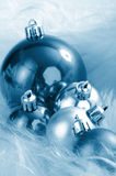 Wintery Christmas Decorations Royalty Free Stock Photos