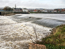 Wintery Day At Exeter Quays Royalty Free Stock Images