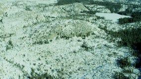 Wintery lake tahoe landscape stock footage