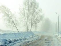 Winterzeit Stockbild