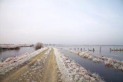 Winterzeit in Deutschland Lizenzfreies Stockfoto