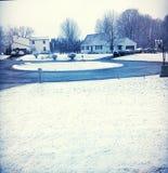 Winterzeit in New York Lizenzfreie Stockbilder
