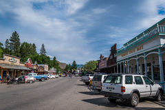 Winthrop Main Street foto de stock
