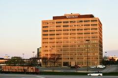 Wintrust, das Schaumburg, Illinois errichtet stockbilder