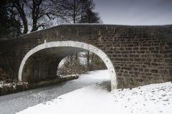 Wintry Bridge Royalty Free Stock Image