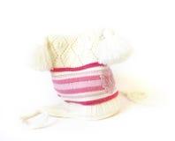 Wintry hat Stock Photo