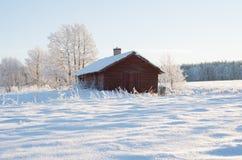 Wintry landscape Stock Photography