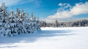 Wintry landscape scenery Stock Image