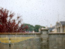wintry väder royaltyfria foton