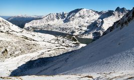 Wintry view of Tatra mountains Stock Photography