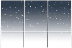 Wintry Window Stock Photography