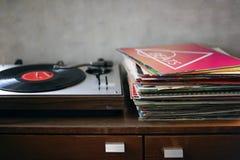 Winylowy Muzyczny melodia czasu wolnego odpoczynku rytmu pojęcie fotografia stock