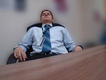 Winziger Bruch bei der Arbeit Lizenzfreie Stockfotos