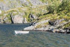 Wioślarska łódź Obraz Royalty Free