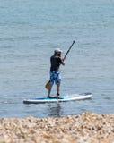 Wioślarski surfingowiec zdjęcia stock