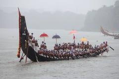 Wioślarze wąż łódkowata drużyna Obrazy Royalty Free