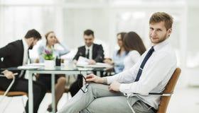wiodący prawnik firma na tle pracujący spotkanie biznesowa drużyna zdjęcie stock