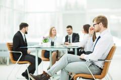 wiodący prawnik firma na tle pracujący spotkanie biznesowa drużyna obrazy royalty free