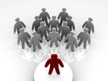 wiodący liderów ludzie Zdjęcie Stock