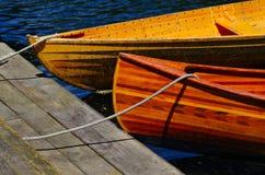 Wioślarskie łodzie na Avon rzece Christchurch Zdjęcia Stock
