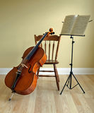 Wiolonczela recital lub koncert Zdjęcie Stock