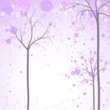 Wiosen drzew tło Zdjęcia Stock