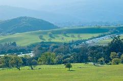 wiosenne północnej kalifornii widok Fotografia Stock