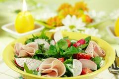 wiosenne sałatkowy warzywa świeże Zdjęcia Stock