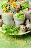 wiosenne warzyw bułeczki Zdjęcia Royalty Free