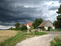 wioska Zdjęcie Stock