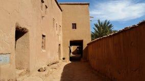 Wioska Ben haddou o ouarzazate fotografia royalty free
