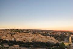Wioska Berrem blisko Midelt, Maroko Zdjęcie Royalty Free