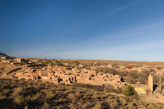 Wioska Berrem blisko Midelt, Maroko Zdjęcia Royalty Free