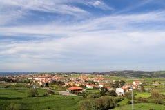 wioska brzegu zdjęcia stock