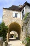 Wioska Castelnaud Fotografia Royalty Free