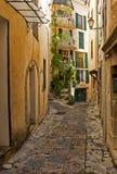 Wioska Entrevaux w Francja zdjęcie stock