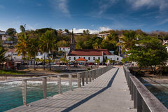 Wioska Le Diamand, Martinique Zdjęcia Stock