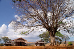 wioska mała wioska Zdjęcia Royalty Free