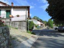 Wioska Melo, zarząd miasta Cutigliano, prowincja Pistoia, Tuscany, Włochy G?rska wioska obrazy stock