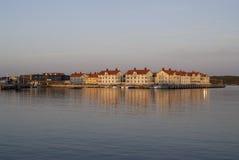 Wioska morzem Zdjęcia Stock
