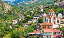 Wioska Moutoullas Nikozja okręg Cypr Obraz Royalty Free