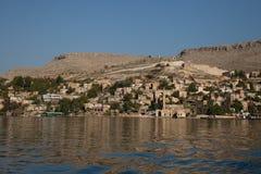 Wioska na Euphrates obraz royalty free