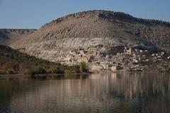 Wioska na Euphrates zdjęcia stock