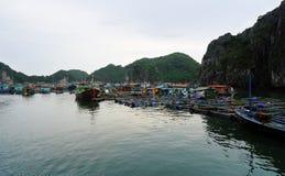 Wioska na morzu Zdjęcia Royalty Free