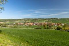 Wioska Netra w Hesse zdjęcia royalty free